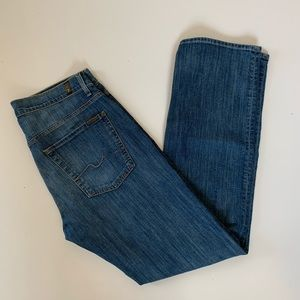 7 For All Mankind Carsen Jeans 32 Easy Straight